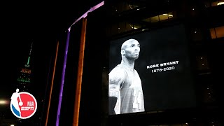 Madison Square Garden pays tribute throughout the game to Kobe Bryant | NBA on ESPN