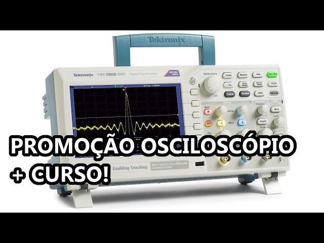 PROMOÇÃO CISTEK IMPERDÍVEL: OSCILOSCÓPIO NOVO + CURSO OSCILOSCÓPIO!!
