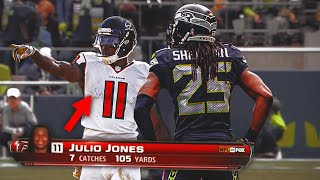 When A Rookie Julio Jones Dominated The Legion of Boom