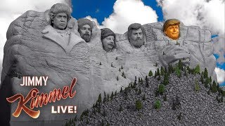 Donald Trump Added to Mount Rushmore