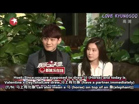 [ENG] 140214 Chen & Zhang Liyin Interview