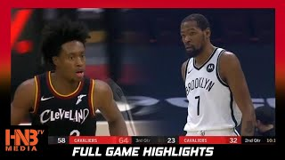 Brooklyn Nets vs Cleveland Cavaliers 1.20.21 | Full Highlights