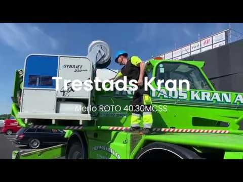 Merlo R40.30MCSS - Trestad Kran