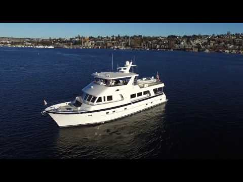 Outer Reef Yachts 700 Classic Motor Yacht Offered for sale in Seattle.