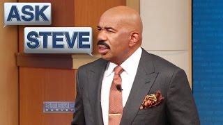 Ask Steve: My husband is cheap! || STEVE HARVEY