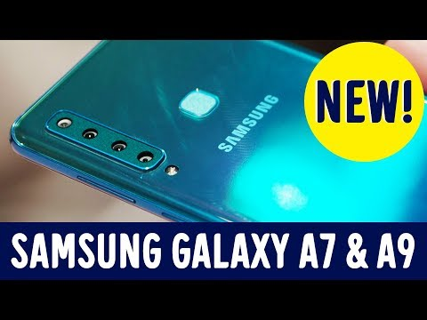 First Impression: Samsung Galaxy A7 & A9 (Milano Launch Event)