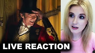 The Greatest Showman Trailer REACTION