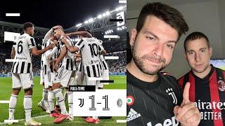 Juventus Milan 1-1 | Sono arrabbiato: smettiamo sempre di giocare nel secondo tempo! PERCHÈ?