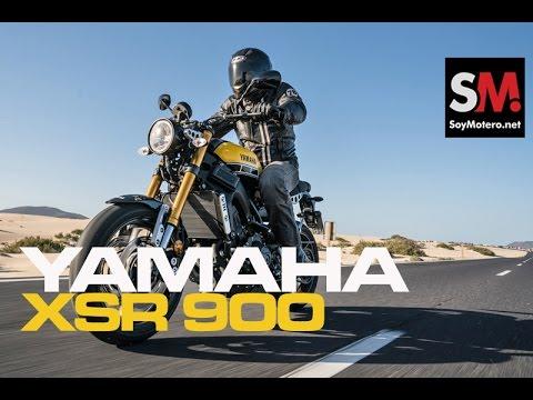 Presentación Yamaha XSR 900 2016