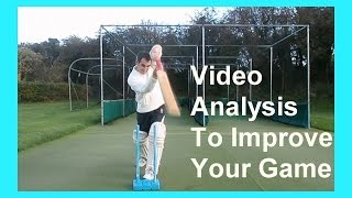 Cricket Video Analysis & How To Play Cricket Batting Shots & Improve Your Batting Techniques