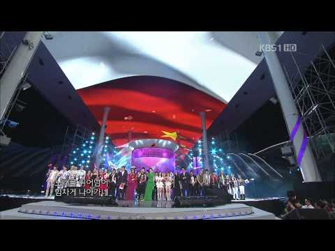 【1080P】All Artist (SNSD,EXO,KARA,2PM..) - Ending (2 Sep,2012)