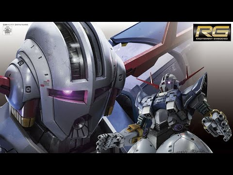 Bandai Gunpla RG 1/144 Zeong Unboxing