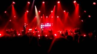 These New Puritans - Where The Trees Are On Fire, live (Krakow 13.09.2015)