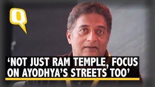 Prakash Raj on Ram Mandir, Sabarimala, Karnataka politics,..