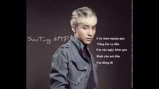REMIX 5 bài hát hay nhất của Sơn Tùng M-TP