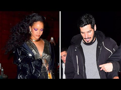 Rihanna Hits Up the GRAMMY After Party with Rumored Boyfriend, Hassan Jameel