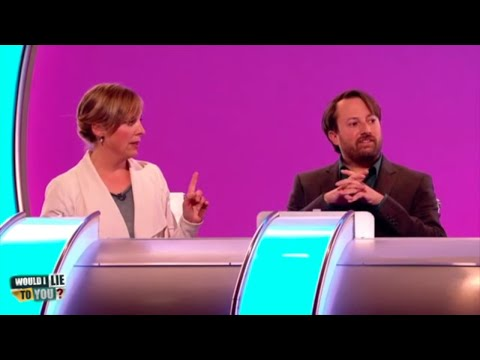 Which WILTY panel member did Mel Giedroyc have a snog with? - Would I Lie to You? [CC-EN,AR,ES,NL]