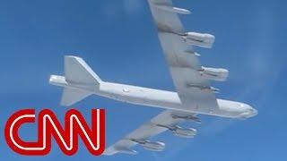 US B-52 bomber caught on Russian camera