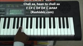 Mere Sapno Ki Rani - Piano Tutorials .... Full Song !!!