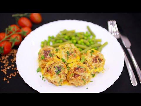 Что приготовить на ужин? Тефтели с гречкой в духовке, без обжарки. Вкусно и сочно!