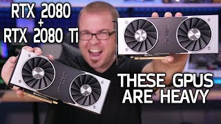 WORLD'S FIRST RTX 2080 and RTX 2080 Ti Unboxings Probably