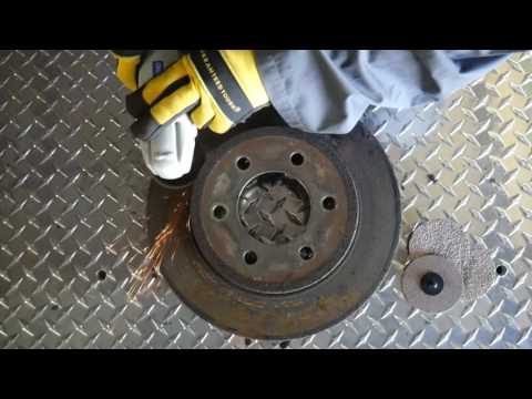 Cleaning Rotors with Quick Change Disc Max
