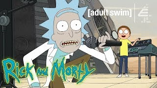 Rick & Morty Perform 'Get Schwifty' | Rick and Morty