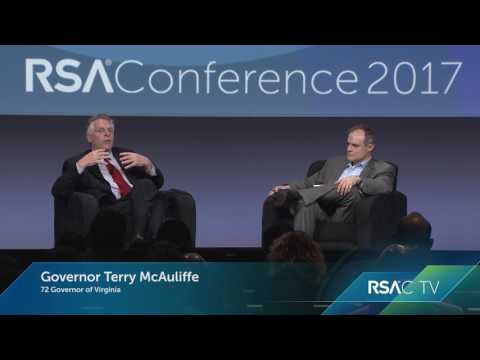 Partnering with the Private Sector: Gov. Mc Aullife (D) of Virginia | RSAC 2017