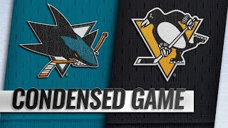 02/21/19 Condensed Game: Sharks @ Penguins