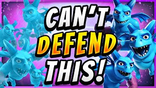 WIN USING 3% OF YOUR BRAIN with MINION HORDE CLONE! — Clash Royale