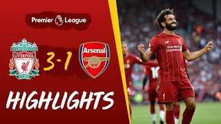 Liverpool vs Arsenal | Salah at the double against the Gunners