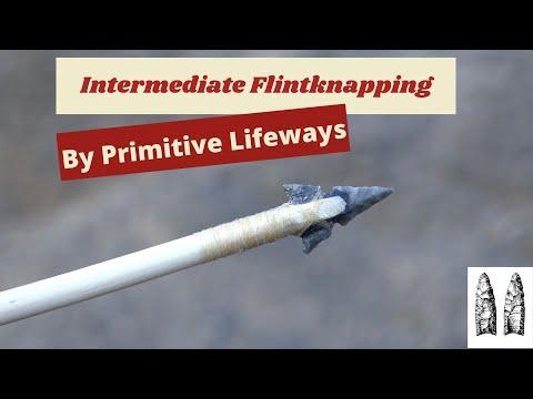 Intermediate Flintknapping!