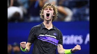Andrey Rublev vs Nick Kyrgios Extended Highlights | US Open 2019 R3