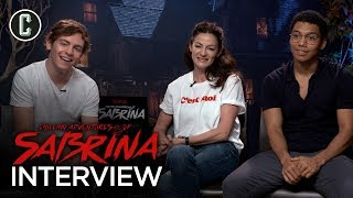 Chilling Adventures of Sabrina Cast Interview: Ross Lynch, Michelle Gomez, Chance Perdomo