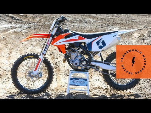 Technical Briefing Of The 2019 KTM 350 SX-F | TransWorld Motocross