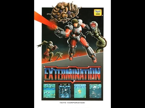 Extermination Arcade Gameplay One Credit All