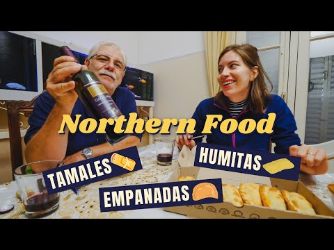 Northern ARGENTINE FOOD: Empanadas, Humitas + Tamales 🥟 (It Rained So We ATE ALL DAY!)
