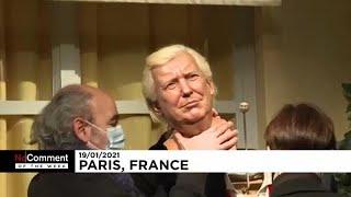 El juramento de Joe Biden, la estatua de Trump desmontada en París, los niños suizos votando...