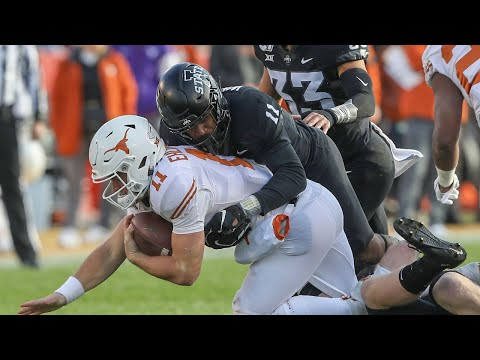 Texas vs Iowa State Football Highlights