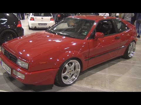 Volkswagen Corrado 1.9 110 hp (1991) Exterior and Interior in 3D