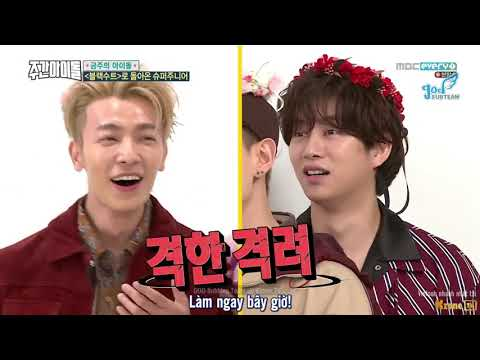 [GOD Subteam] Vietsub WEEKLY IDOL EP 328 | Super Junior