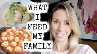5 FAMILY MEAL IDEAS | WHAT WE EAT IN A WEEK | KERRY WHELPDALE