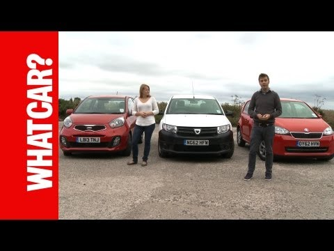 Cheapest UK Cars Group Test 2013 - What Car?
