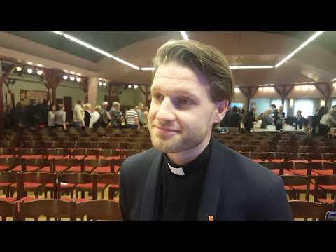 Markus under biskopsvisitationen på Österlen