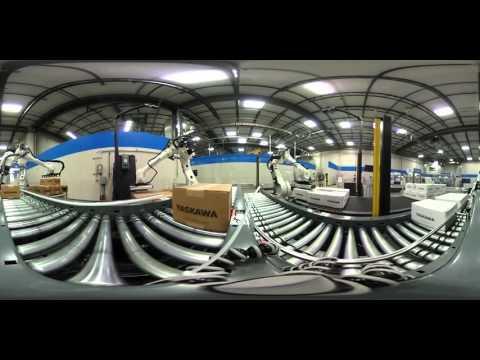 Robotic Palletizing & Depalletizing - 360 Video