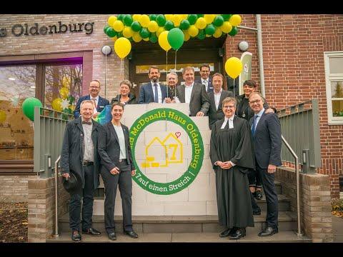 Eröffnung des Ronald McDonald Hauses Oldenburg nach Erweiterung