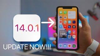 iOS 14.0.1 Released! UPDATE NOW!