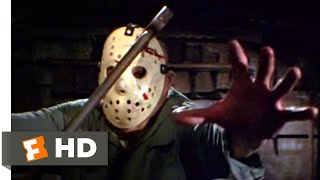 Friday the 13th Part 3 - Axing Jason Scene (9/10)   Movieclips