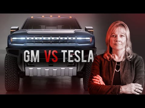 GM's Secret Plan To Crush Tesla | GMC Hummer EV Challenging Cybertruck