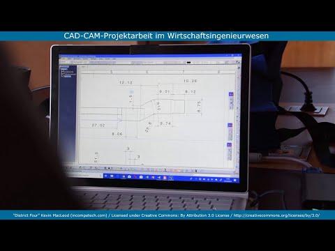 Impressionen aus dem Studiengang Wirtschaftsingenieurwesen (Modul CAD-CAM-Projektarbeit)